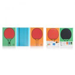 3 Carnets ping-pong / tennis de table pour jouer au bureau