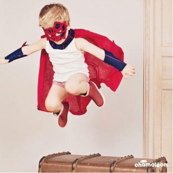 Kit Super Héros - Super araignée - bleu-rouge Chamaléon