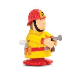 Jouet mécanique Pompier