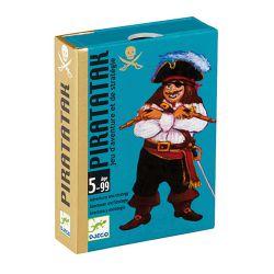 Jeu de cartes de 5 à 10 ans Piratatak Djeco