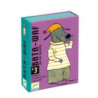 Jeu de cartes de 3 à 7 ans Bata waf Djeco