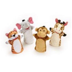 Marionnettes animaux de la savane