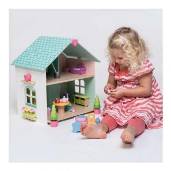 Maison de poupées en bois Evergreen Le Toy van