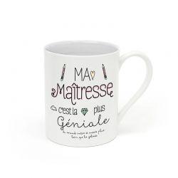 """Mug """"Ma maitresse c'est la plus géniale"""""""