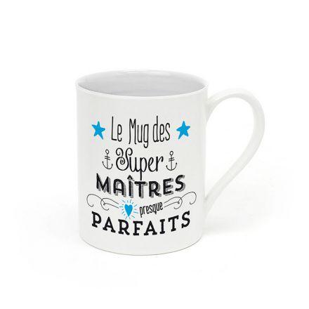 """Mug """"Le mug des maîtres presque parfaits"""""""