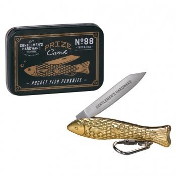 Petit couteau de poche poisson