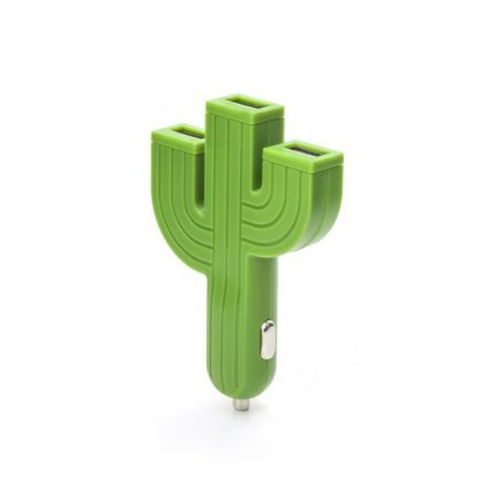 Chargeur cactus voiture usb