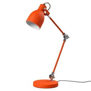 Grande lampe à poser Task orange