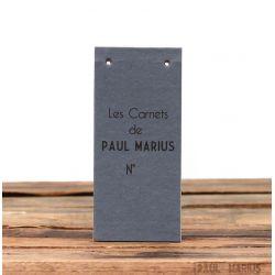 RECHARGE CARNET BLOC NOTE PAUL MARIUS
