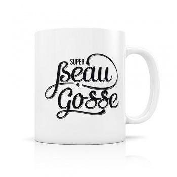 Mug super beau gosse - blanc