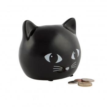 Tirelire tête de chat