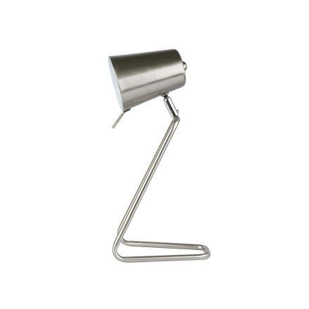 Lampe d'appoint Z métal finition satinée