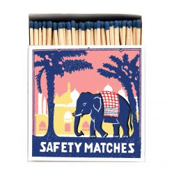 Boîte allumettes Pink elephant 10 cm x 150