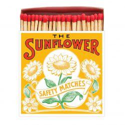Grande boîte allumettes Sunflower Archivist