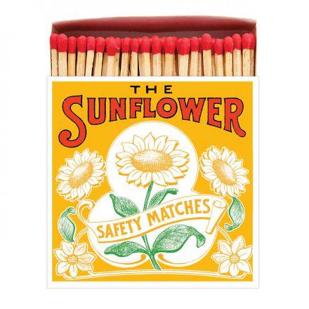 Boîte allumettes Sunflower 10 cm x 150