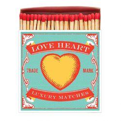 Boîte allumettes Love heart 10 cm x 150