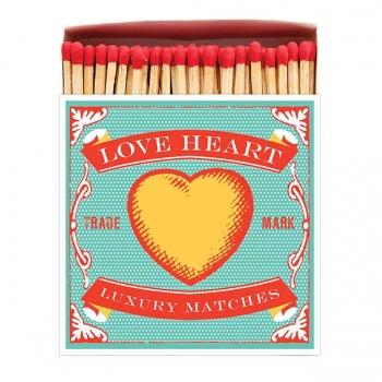 Grande boîte allumettes Love heart Archivist Gallery