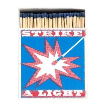 Grande boîte allumettes Strike a light Archivist
