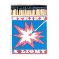 Boîte allumettes Strike a light 10 cm x 150