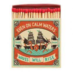 Boîte allumettes Even on calm water 10 cm x 150
