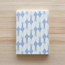 Petit carnet Calamars 14 cm - Monsieur Papier