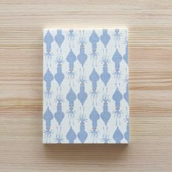 Petit carnet Calamars 14 cm