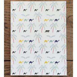 Petit carnet Oasis 14 cm - Monsieur Papier