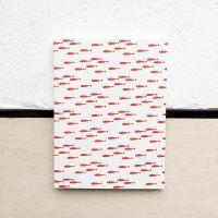 Petit carnet Poissons rouges 14 cm
