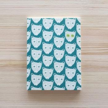 Petit carnet Ours 14 cm - Monsieur Papier