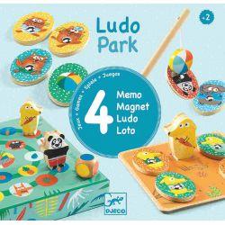 Ludo park 4 jeux premiers apprentissages