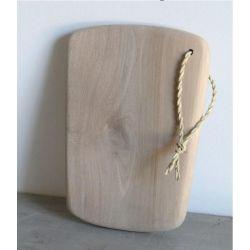 Planche à découper en noyer sans manche 13 x 20 cm Artisanat marocain