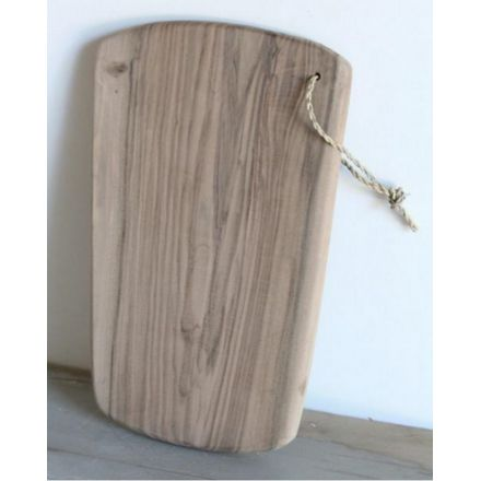 Planche à découper en noyer sans manche 11 x 15 cm Artisanat marocain