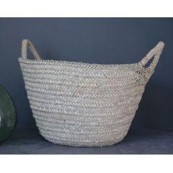 Panier à anses - artisanat marocain