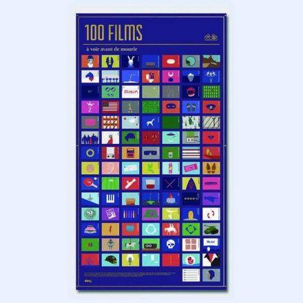 Poster 100 Films à voir avant de mourir