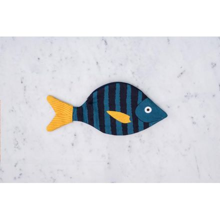 Trousse brème des mers bleu nuit