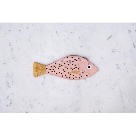 Trousse poisson rouge