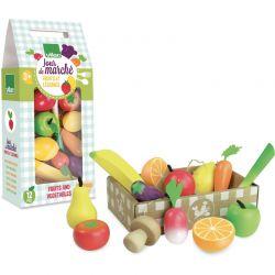 Set de fruits et légumes jour de marché Vilac