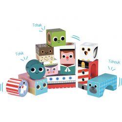 Cubes sonores de la mer
