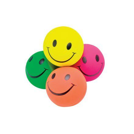 Balle caoutchouc smile 6cm