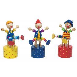 Clown poussoir - A l'unité