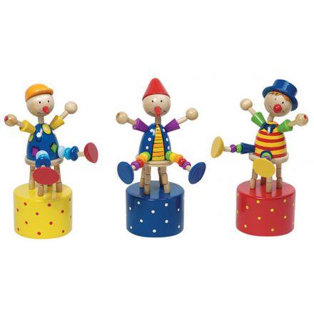Clown poussoir