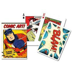 Cartes vintage comic
