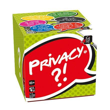 Privacy - Dès 18 ans