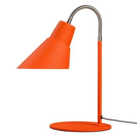 Lampe Gooseneck orange