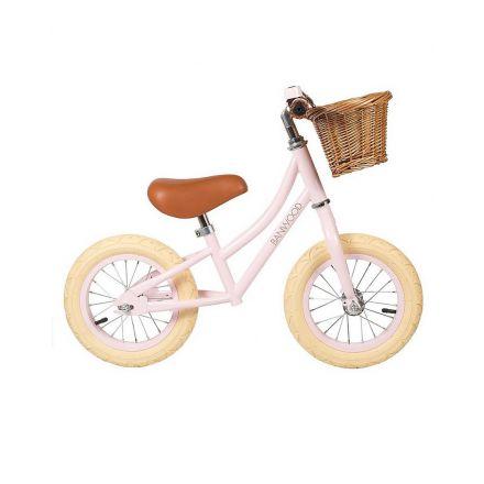 Vélo - first go - rose