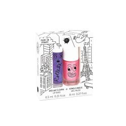 Coffret rollette cassis 6.5 ml + vernis kitty 8ml