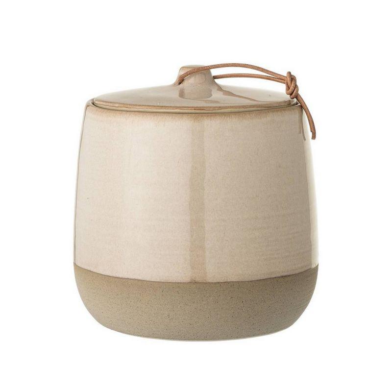 Pot herm tique en c ramique 11 cm bloomingville for Pot ceramique exterieur