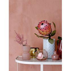 Vase rose en verre - 7.5 cm