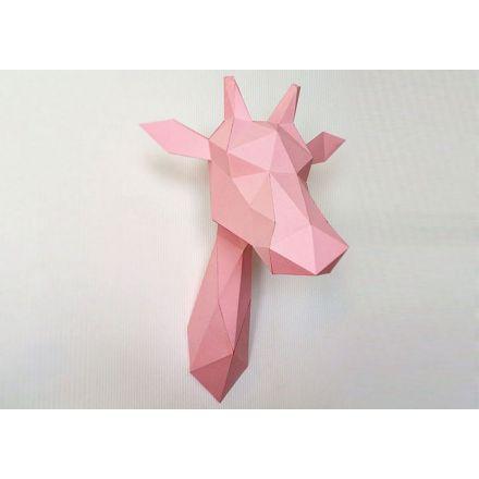 Girafe rose