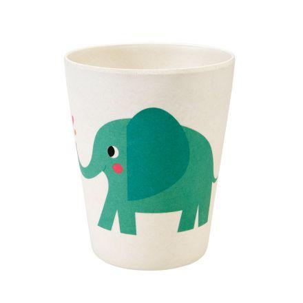 Gobelet en bambou Elvis l'éléphant
